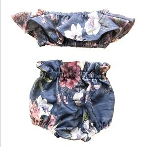 Other - Floral Two Piece